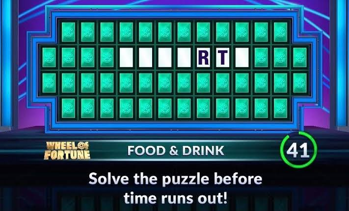 Food and drink wheel of fortune